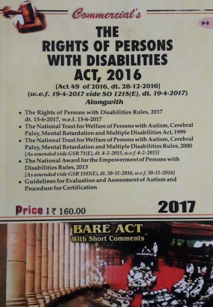 Right of Persons with Disabilities Act, 2016